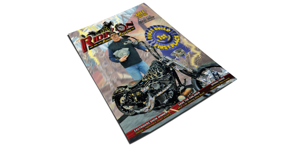Reefer review on Ridin'On  agazine