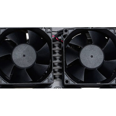 Reefer Dual Fans with Bullet Connector RF-126-K