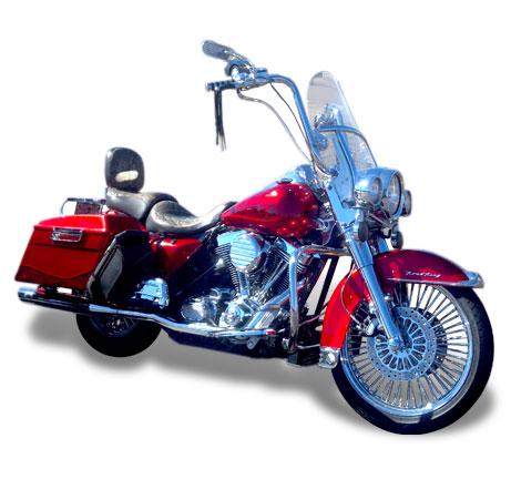 FLH 1994 - 1998 Harley Oil Cooler