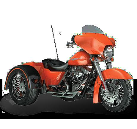 Trike 1999 - 2008 Harley Oil Cooler